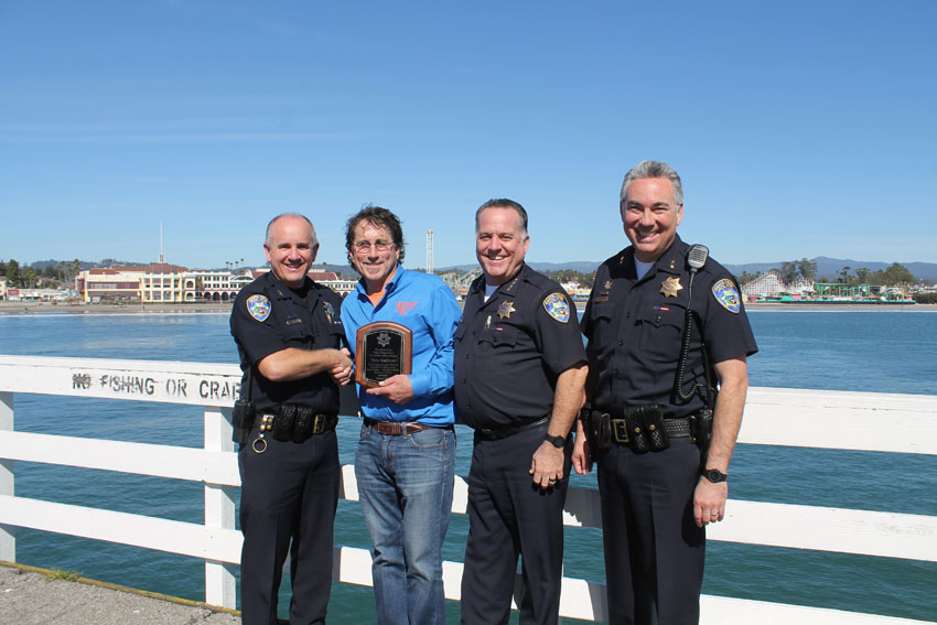 SCPD Honors Tom Ralston for Fallen Officers Memorial