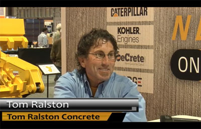 world-of-concrete-2013-tom-ralston-video