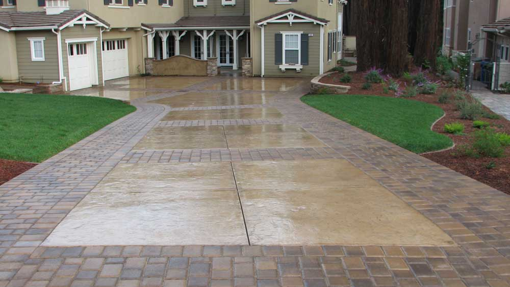 Concrete driveways driveway repairs decorative concrete for New driveway ideas